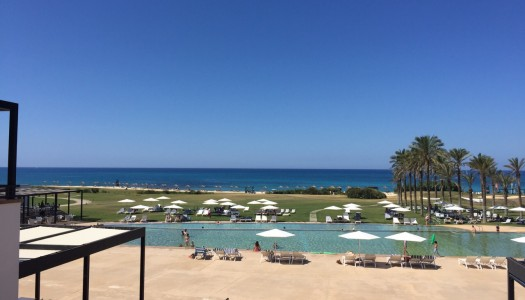 This is what I'm leaving behind at the Rocco Forte Verdura Resort