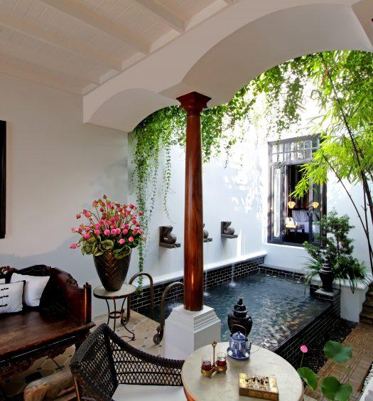 Pool Villa - Chinese theme (Living area)