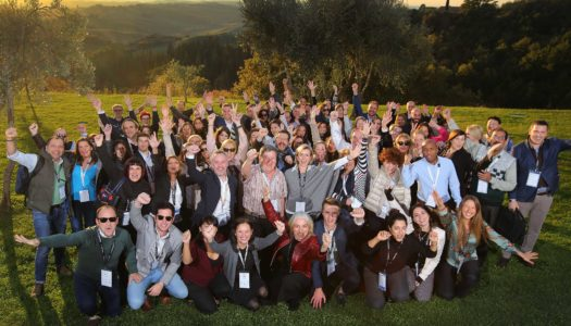 Connections Meetings in Italy: energetic, enlightening and playful