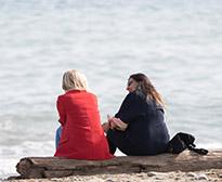 Beach meetings at Villa Padierna Club de Mar