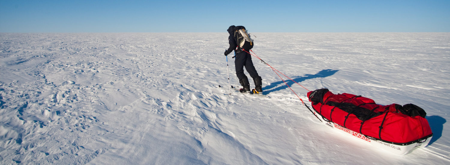 George Bullard, The Longest Unsupported Polar Journey. Ever.