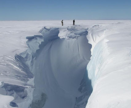 Greenlandic Crevasse