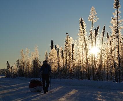 Ice Road Trekking, George Bullard