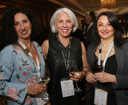 Patrizia Ermetici, Charlene T. Dave & Amelia Borghese