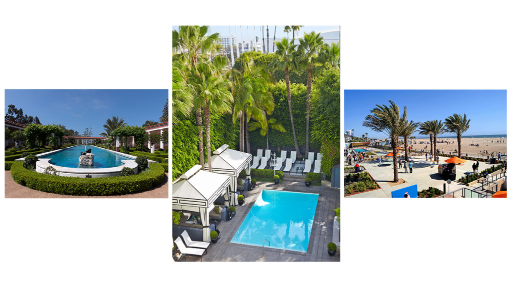 An exclusive party - The Getty Villa, Viceroy Santa Monica & Annenberg Community Beach House