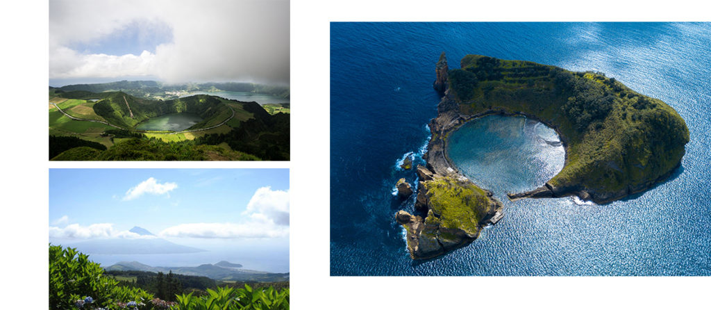 Azores islands & lakes