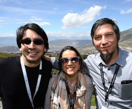 Constanza Ibarra outdoors in Quito