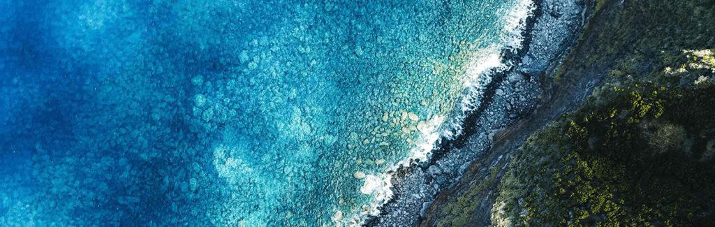 The Azores coast