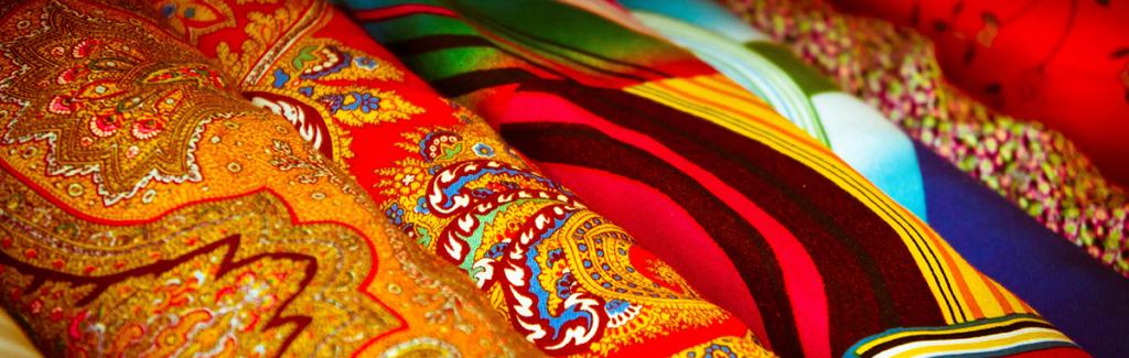 Colourful Peruvian fabrics