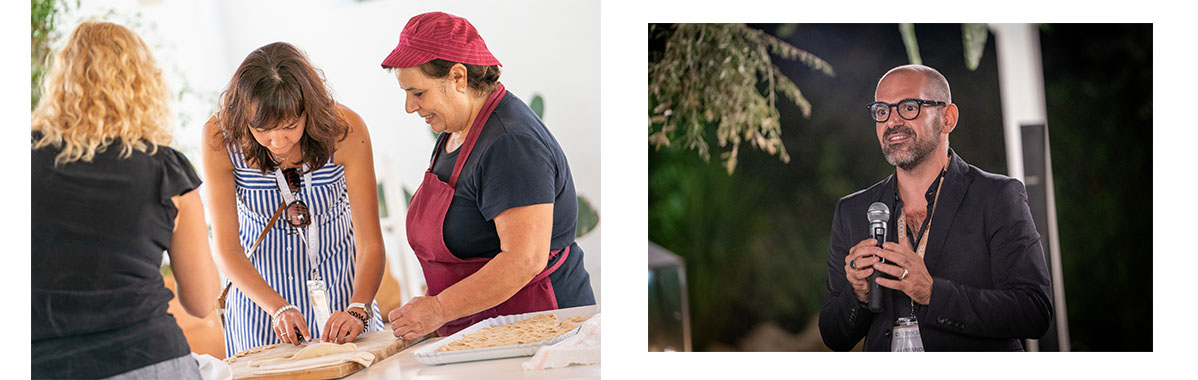 Pasta-making at Tenuta Centoporte & Alessandro Stefanio