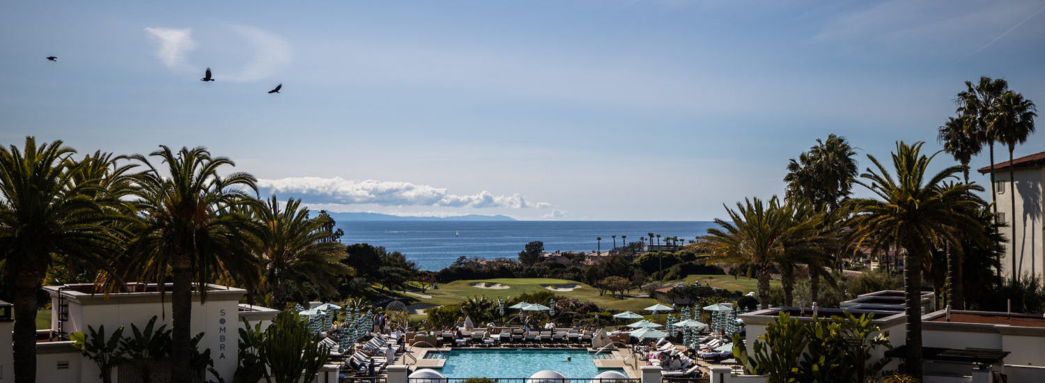The Visit California Luxury Forum in Dana Point, California, March 8, 2020.