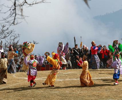 Dances-Bhutan