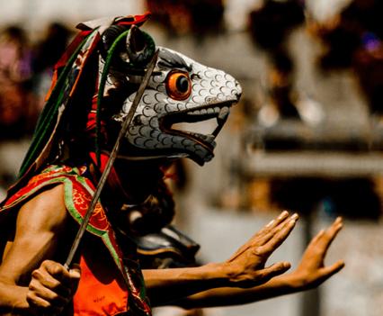 Masks-Bhutan