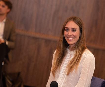 Paloma Ruiz from Marbella Club Hotel, Golf Resort & Spa during her Q&A ConnecTalk