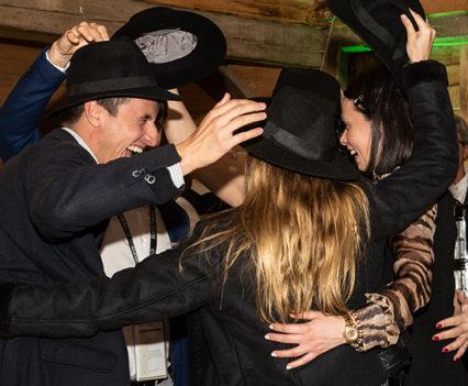The hat dance at Jelenov Greben